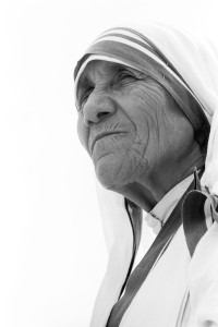 Mother Teresa Face Shows Compassion